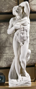 Dying Slave by Michelangelo Male Nude Statue