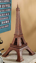 Eiffel Tower Architectural Sculpture