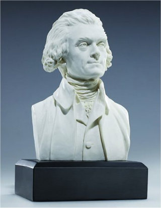 Thomas Jefferson Bust Statue 6