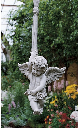 Angelic Play Hanging Sculpture 26.5