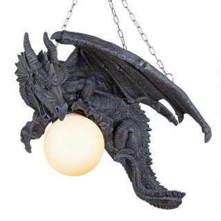 Nights Fury Hanging Dragon Lamp Statue