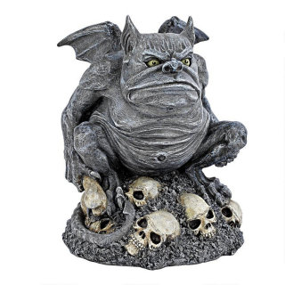 Bone Chiller the Troll Gargoyle Sculpture