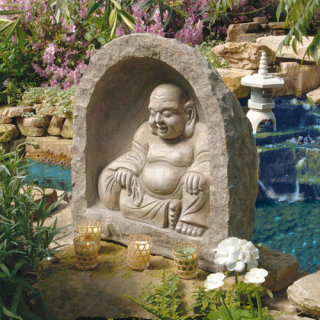 Great Buddha Garden in Grotto Sculpture