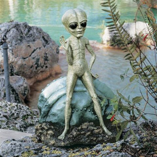 Roswell The Alien Sculpture