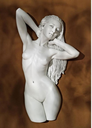 Rachel's Way Contemporary Venus Wall Sculpture