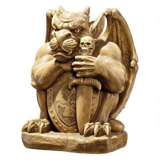 Victor the Vicious Giant Gargoyle Guard Statue