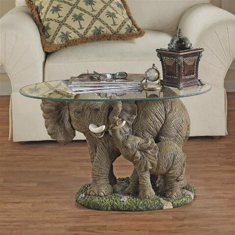 Elephant's Majesty Cocktail Table