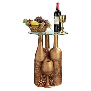 Wine & Dine Sculptural Glass Table