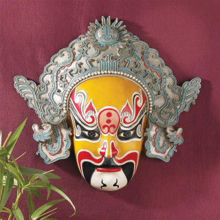 Peking Opera Mask Sculpture Dian Wei