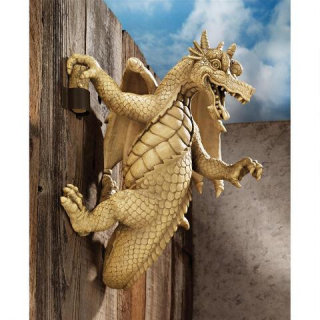 Dread The Dangling Dragon Wall Sculpture