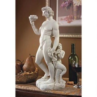 Bacchus of Wine Statue by Michelangelo