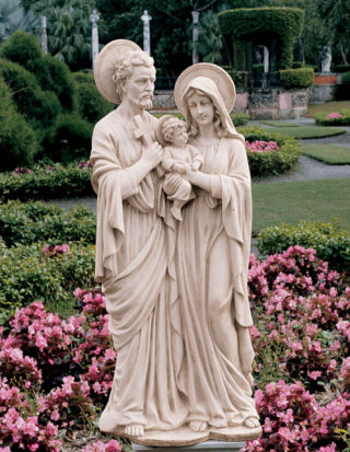 Holy Family Garden Sculpture 42