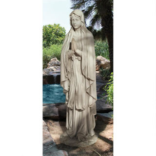 Blessed Virgin Mary Life Size Statue 69.5
