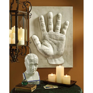 Palmistry Language of the Hand Wall Sculpture