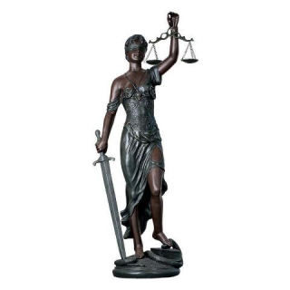 Blind Justice Statue Scales Of Justice 58