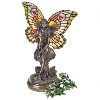 Fairy Of The Glen Tiffany-style Lamp