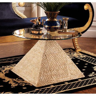 Great Egyptian Pyramid Of Giza Table