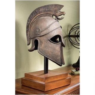 Macedonian Battle Helmet Museum Bust