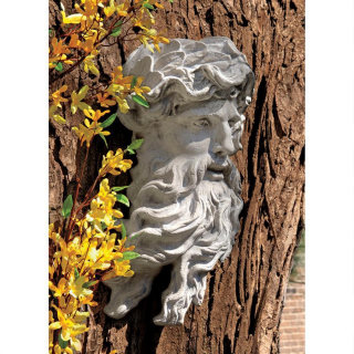 Greek God Of The Sea Poseidon Wall Mask
