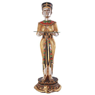 Egyptian Queen's Faithful Servant Statue