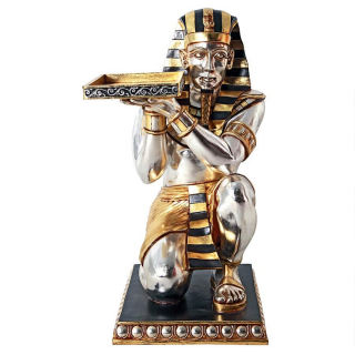 Pharaoh's Kneeling Servant Table