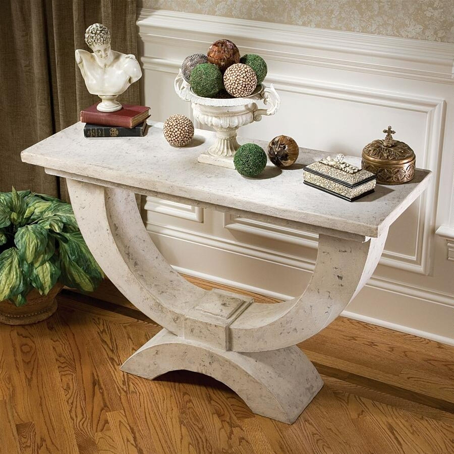 Modern Arch Of Stone Console Table