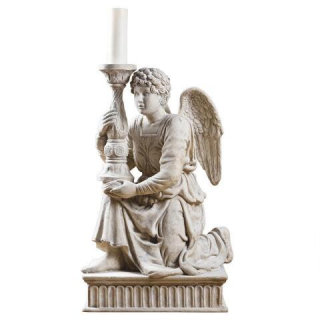 Angel Candlestick Statue by Michelangelo