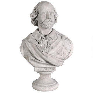 William Shakespeare Large-Scale Sculptural Bust