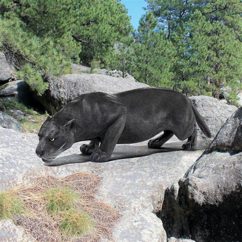 Black Panther Statue Large