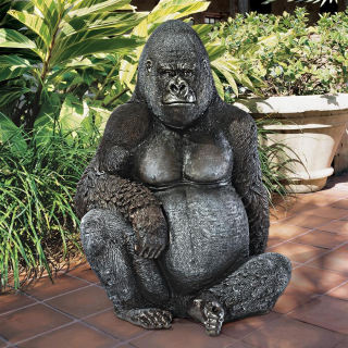 Gorilla Giant Great Ape Statue 45