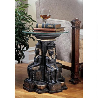Ramses Egyptian Sculptural Table