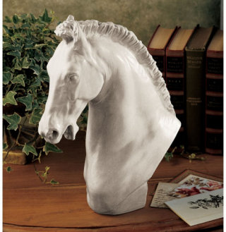 Horse Of Turino Sculpture Bust