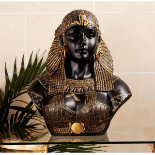 Bust of Queen Cleopatra Sculpture