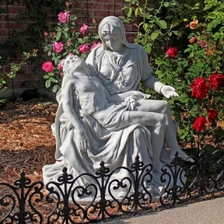 Pieta Large Scale Garden Sculpture