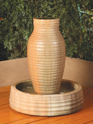 Amphora Vase Fountain With Pool
