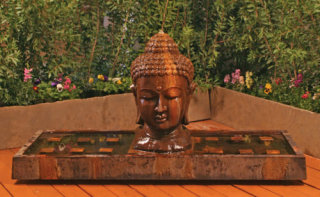 Buddha Head Fountain 75