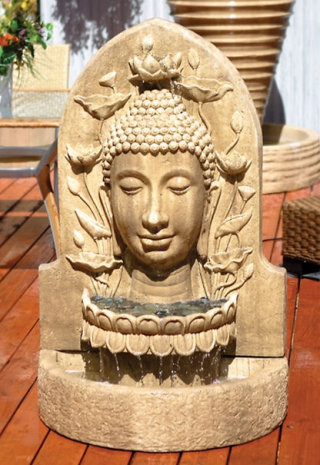Buddha Wall Fountain Asian Art
