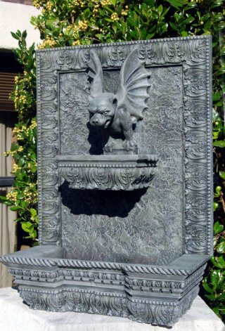 Gargoyle Wall Fountain Made In Usa