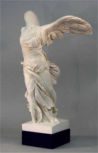 Nike Of Samothrace Statue Winged Victory Sculpture Large