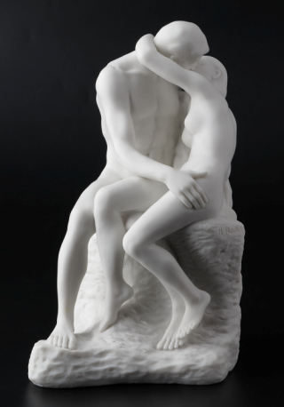The Kiss by Rodin Sculpture