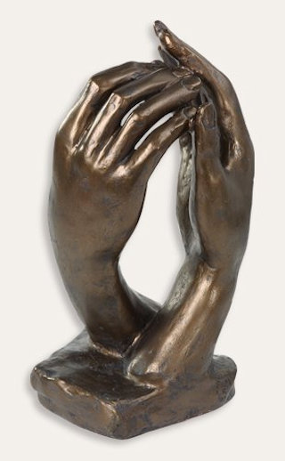 Cathedral Hands By Auguste Rodin Sculpture