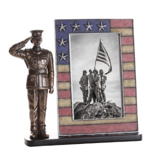 Marine Picture Frame Sculpture