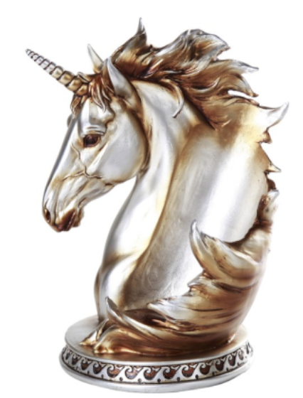 Unicorn Wine Bottle Holder Sculpture