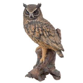 Eagle Owl Sculpture 14.5