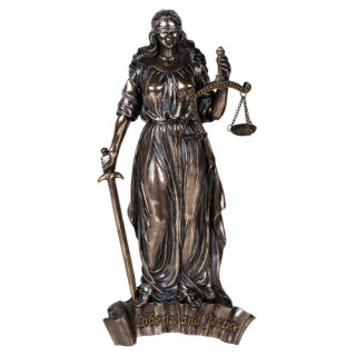 Lady Justice Wall Plaque Liberty and Justice 8aca450b5d