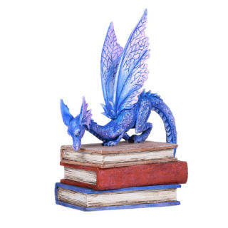 Book Dragon Statue