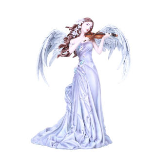 Lullaby Angel Figure Playing Violin Statue