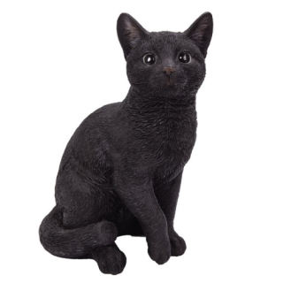 Black Cat Sculpture 12