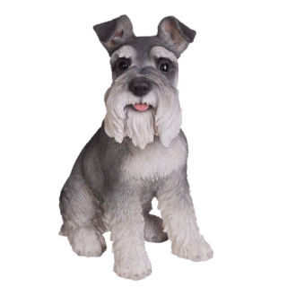 Schnauzer Dog Sculpture