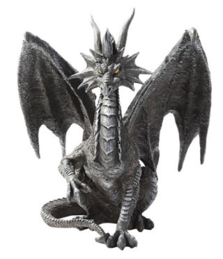 Checkmate Dragon Figurine Sculpture